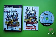 Grand Theft Auto III GTA PS2 PAL Game