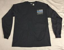 Custom Police Law Enforcement Thin Blue Line Romans 13:4 LONG Sleeve T-shirt