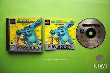 Disneys Monsters Inc Scare Island PS1 Playstation 1 PS2 PS3 PAL Game