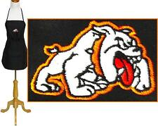 "Bulldog Apron 24"" or 30"" Size Sports Team Dog Mascot Monogram Kitchen Chef Art"