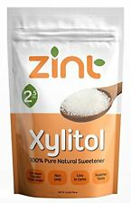 Zint Xylitol Natural Sweetener Powdered GMO Gluten and Sugar Free 2.5 lb
