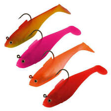 "Sidewinder Super Shads (ALL COLOURS) 4"" and 5"" Fishing lures"
