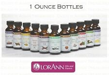 LorAnn 1 oz Super Strength Flavoring Oils Flavor Extract Candy Baking Ounce A-K