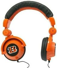 Cincinnati Bengals NFL Licensed iHip DJ Style Noise Isolating Headphones