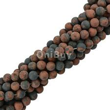 Natural Frost DIY Necklace Bracelet Round Loose Beads 15'' w Size- 4mm/6mm/8mm