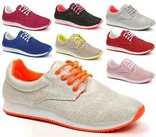 Womens Running Trainers Girls Gym Walking Shock Absorbing Sports Fitness Shoes