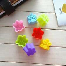 6PC Carter Orchid Silicone Mold Brooch Fondant Cake Decorating Cookie Chocolate