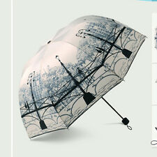 Women Fashion Dome Parasol Princess Strong Anti UV  Rain/Sun Folding Umbrella