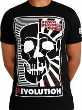Dawn of the Planet of the Apes Caesar Revolution Licensed Movie Mens T-shirt