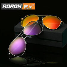 New HD Polarized Sunglasses Women Lady Designer Retro Mirrored Eyewear Shades