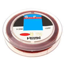 High Wearable Fish Fishing Spool Line 100m Size 0.37mm