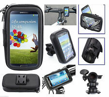 Bike Bicycle Motorcycle Waterproof Phone Case bag with Handlebar Mount Holder