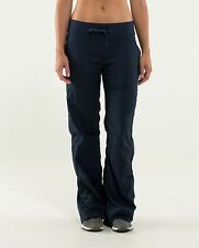 NWT Lululemon Dance Studio Pant II Sz 10 Regular Naval Blue Navy Lined NEW