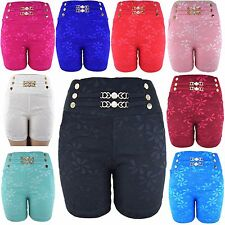 Colorful Lady's Women Lace Crochet Shorts Juniors Size Mini HOT Pants Short GD