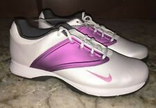 NEW Womens 7 7.5 8.5 9 NIKE Lunar Saddle White Red Violet Purp Golf Shoes Ladies