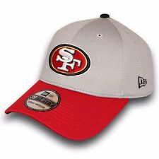 New Era San Francisco 49ers Perforated Grey 39FIFTY Stretch Fit Cap