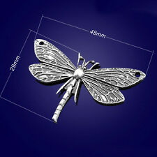P1013 Wholesale Butterfly Tibetan Silver jewelr accessories DIY Pendant 5-20pcs