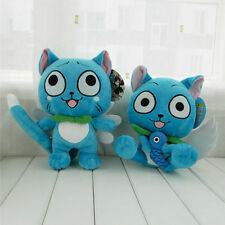 """Anime Fairy Tail Happy 10""""/12'' Plush Stuffed Doll Soft Toy Gift"""