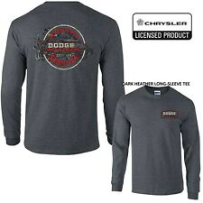 Vintage Dodge Cars & Trucks LICENSED LONG-SLEEVE TEE S-M-LG-XL-2X-3X