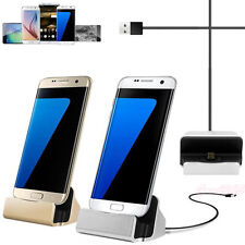 New Micro USB Charging Cradle Charger Dock Station For Samsung Galaxy S7 S7 Edge