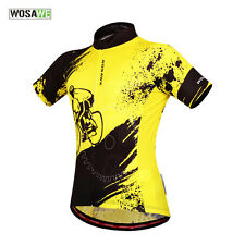 Men's Bike Clothing Jersey Short Sleeve Tops Riding Shirt Cycling Breathable