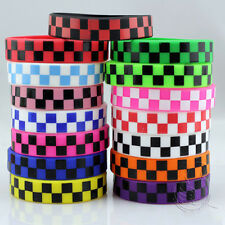 Grid Silicone Bracelet  Rubber Wristbands Small Square Boxes Pattern Colorful