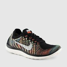 Nike free 4.0 flyknit Men's running shoes 717075 011 Multiple sizes