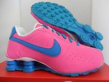 NIB Youth Nike Shox CL Classic GS Shoes sz 6Y Pink Blue Lagoon 309711-614 Kids