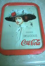 Coca cola tin tray Drink Delicious