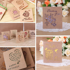 Greeting Cards W/Envelope Visual 3D Box Gift Cards Leave Message Paper Cards