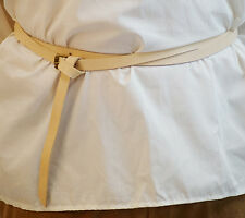 Medieval-SCA-LARP-Reenactment-UNDYED DOUBLE WRAP BUCKLE GARTER BELT 20ML