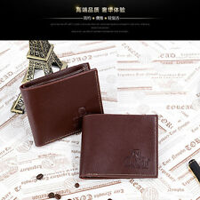 Wallet business ID credit card holder slim money clip mens leather NEW
