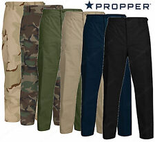 Propper BDU Pants - Cotton or Poly Blend Uniform Trouser Sewn To Military Specs