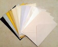 25 x C6 Shimmer / Pearlescent Envelopes (Various Colours Available)