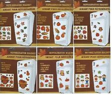 Fall Autumn Owl Squirrel Harvest Refrigerator Magnet Build your own CHOOSE STYLE