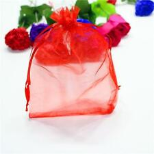25/50/100Pcs Sheer Organza Wedding Party Favor Gift Candy Bags Pouches HOT
