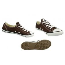 Converse Womens CT All Star Dainty OX Trainers - 530055C (Chocolate)