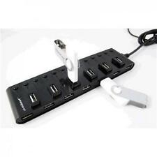 NEW mbeat USB-M13HUB 13 Port USB 2.0 Hub with individual switches and power adap