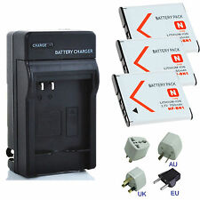Battery / Charger For Sony NP-BN1 DSC-W610 DSC-W570 DSC-W560 DSC-W530 DSC-W510