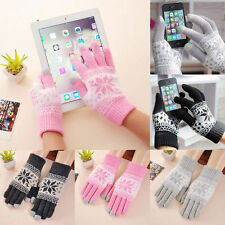 1PC Magic Touch Screen Gloves Smartphone Texting Stretch One Size Winter Knit