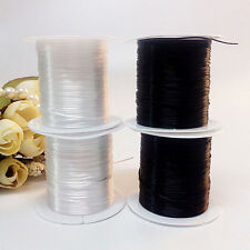 2 Elastic Strong Stretchy Beading Thread Cord Bracelet String For Jewelry Making