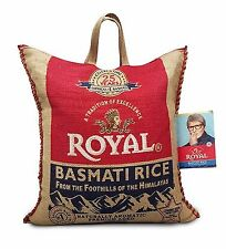 50 Pounds Royal Premium Basmati White Rice GMO FREE Aged