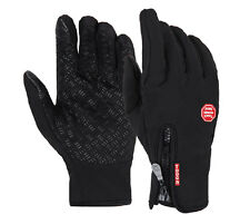 TACTICAL OUTDOOR SPORT TOUCH SCREEN FULL FINGER GLOVES BLACK IN SIZES-35369
