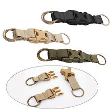 Tactical Key Ring Keychain Quick Release Buckle For Molle Bag Backpack Waist NEW