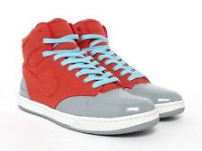 NIKE WOMENS AIR ROYALTY MID WOMENS SHOES STEALTH/SOLAR RED 395775 001 Sz:6-7.5