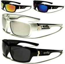 NEW BLACK CHOPPERS SUNGLASSES MENS LADIES BIKER MOTOR CYCLE LARGE WRAP BIG UV400