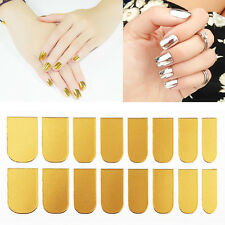 3D Gold Silver Nail Art Decal Sticker Patch Manicure Tips Foil Wraps DIY Decor