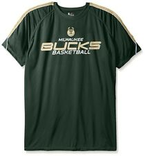 Milwaukee Bucks NBA Majestic Mens Buzzer Beater Synthetic Shirt Big & Tall Sizes