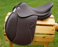 HDR Henri de Rivel Close Contact Memor-X Memory foam seat Jumping Saddle 16 17 R