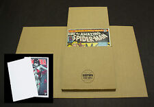 100 Comic Book Flash Mailers + 50 Divider Pads Combo (Best shipping protection!)
